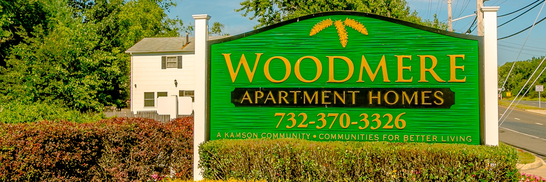Woodmere Apartments entrance