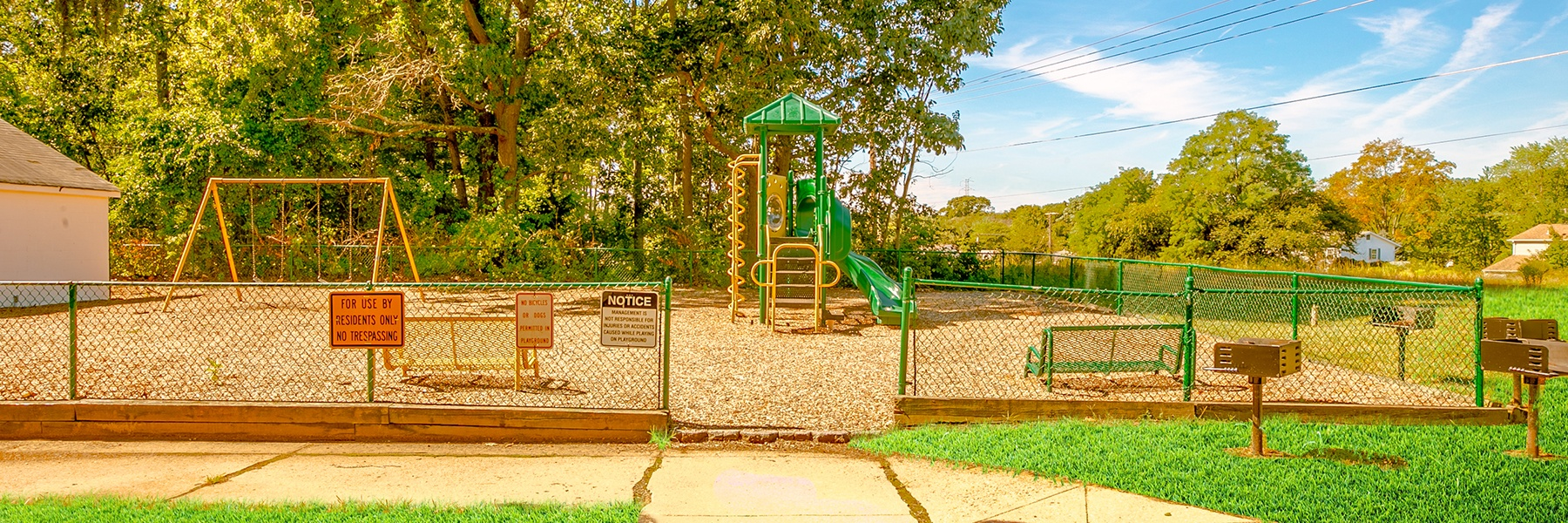 Woodmere Apartments playground