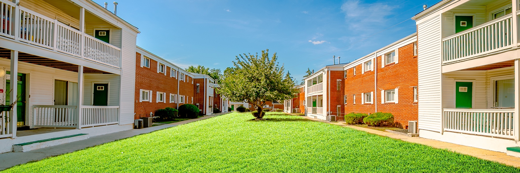 Woodmere Apartments property grounds