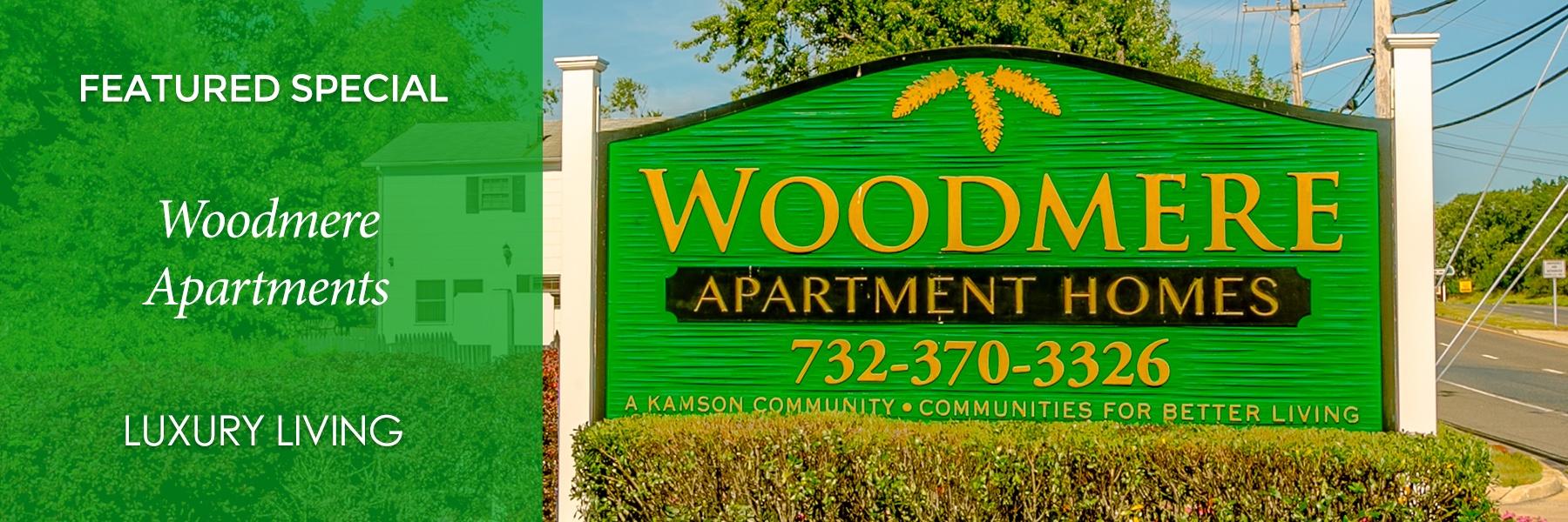 Woodmere Apartments specials